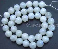 """SALE Round 10mm Natural High quality Moonstone gemstone Beads strand 15""""-los602"""