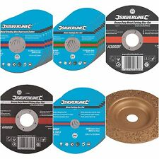 CUTTING GRINDING DISCS 115, 230, 300mm METAL STONE STEEL SLITTING ANGLE GRINDER
