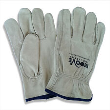 Riggers Gloves, 12 pairs premium leather gloves