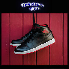 Nike Air Jordan AJ1 Mid Mens Shoes Street Casual Basketball