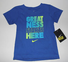 Nike Infant Girls T-Shirt Blue  Size 12 , 18 or 24 Months  NWT