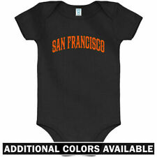 San Francisco One Piece - SFO Bay Area CA Baby Infant Creeper Romper - NB to 24M