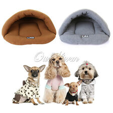 Puppy Pet Dog Cat Warm Bed Sleeping Bag Indoor House Kitten Cave Nest Playhouse