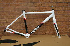 Genesis Volant Road Bike Frameset Alloy Frame & Carbon Fork With Mudguard Eyes