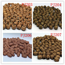 FREE SHIPPING  New DIY Home Vintage Round Wood Spacer Beads Deco Jewelry  50PCs~