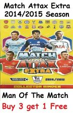 MATCH ATTAX EXTRA 2014 2015 MAN OF THE MATCH MOTM CARDS TOPPS 14/15 2014/2015