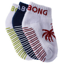 Billabong Toddlers Palms Ankle 3 Pack Socks