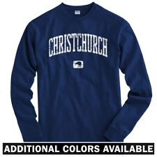 Christchurch New Zealand Long Sleeve T-shirt LS - Rugby Crusaders - Men / Youth