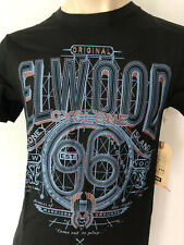2016 ELWOOD Mens Latest Premium Top Tee T-Shirt Size S M L XL XXL black hurley