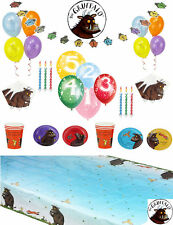 THE GRUFFALO Party Kit for 8 & 16 kids Tableware plates cups napkins balloons