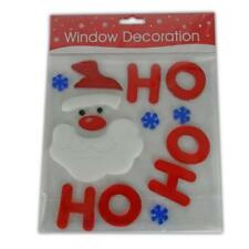 Christmas Gel Window Stickers - Sticker XMAS Decoration Clings Cling Fun Bright