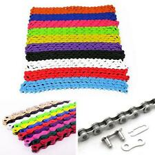 New Bike Chain Fixed Gear Track BMX Bicycle Single Speed Chains Multi-Colors B56