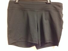 Ideology Fitted Active Fitness Shorts XL Black NWT