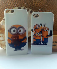 Despicable Me Minion iPhone - 4/4S 5/5S 5C 6 6S-HARD  PHONE CASE-FULL WRAP