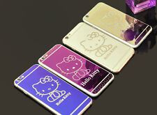 Hello Kitty Tempered Glass Screen Protectors for iPhone 6s Plus front&back+ Case