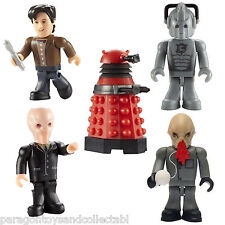 DOCTOR WHO CHARACTER BUILDING MICRO Figure SERIES 1, 2 and 3 - Choice of Figure