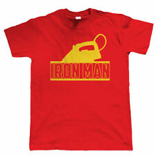 Iron Man, Mens Funny T Shirt - Christmas Gift for Dad Him Secret Santa