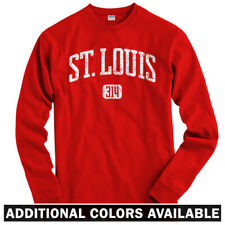 St Louis 314 Long Sleeve T-shirt LS - Cardinals Rams Missouri STL - Men / Youth