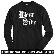 West Side Gothic Long Sleeve T-shirt LS - Chicago Philly Detroit NYC Men / Youth