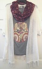 Womens Jacket Top Scarf New Directions Weekend 3 Pc Outfit 6 Sets NWT S M L XL
