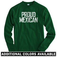 Proud Mexican Long Sleeve T-shirt LS - Mexico City DF Los Angeles  - Men / Youth