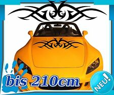 Bumper Sticker Decal Page Tribal Bonnet Sport Tuning 2N208
