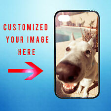 Personalized Photo Custom Apple iPhone 4/4S Your Image Rubber Hard Plastic Case