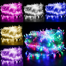 200/300/500LED Battery/Electric Fairy String Lights Christmas Xmas Party Outdoor