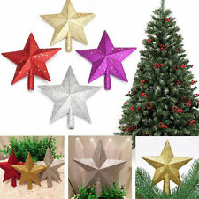 Sparkle 3D Star Design Christmas Tree Top Topper Decoration AT18