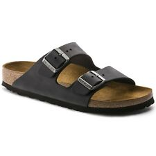 Birkenstock Oiled Leather Arizona $179.95rrp - Black - BNIB