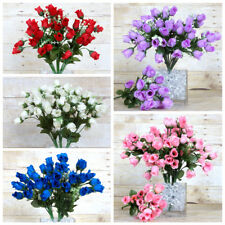 180 Mini Silk ROSES Buds Flowers Bushes for Wedding Bouquets Centerpieces SALE