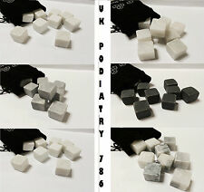 Ice stones / Rocks Drink Cooling stones 9 stones with Muslin bag Perfect Gift