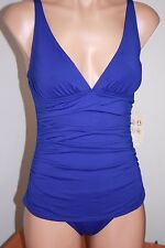 NWT Relax by Tommy Bahama Swimsuit 1 one piece Danubio V neck