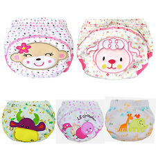 Alluring Baby Cotton Training Pants Reusable Cloth Washable Infant Nappy Diaper