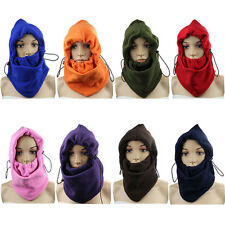 Safety Motorcycle Fleece Neck Cold Winter Full Face outdoor Mask Cover Hat Cap