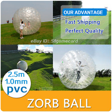 Inflatable Zorb Ball Zorbing Human Hamster ball 1.0MM Zorb Ball 8.2ft(2.5M)
