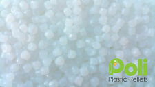 Pure White Plastic Poly Pellets. Reborn, Bear/Doll, Autism Weighted Blankets