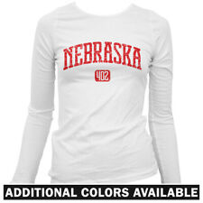 Nebraska 402 Women's Long Sleeve T-shirt LS - Omaha Lincoln Cornhuskers UNL S-2X