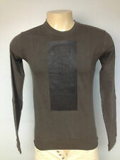 slab by rick owens wje1017 dark shadow  long sleeve t-shirt sz *xs *s  xl* mens