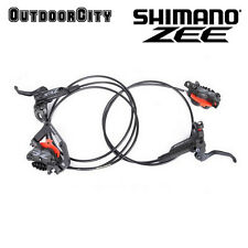 Shimano Zee BR-M640 Disc Brake Hydraulic F&R Set with Cooling Metal Fin Pads MTB