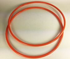 2 Drive Belts Round Urethane for Universal Products UBS 14UL BandSaw Made in USA