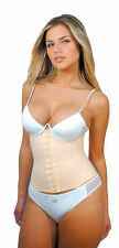 DIVAFIT By Squeem Brazilian Latex Original Classic Waist Cincher Workout (Beige)