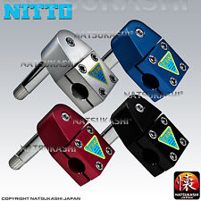 Nitto Japan MX-2 1 inch Quill Stem for Old School BMX Black Blue Red Silver