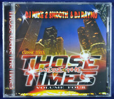THOSE WERE THE TIMES VOL4 WBMX CHICAGO HOUSE MIX CD DJ MIKE 2 & RAYMO NEW SEALED