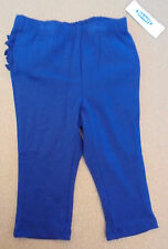 NWT Old Navy Girl's Stretch Leggings with Cute Ruffle Detail on Back. Retail $9