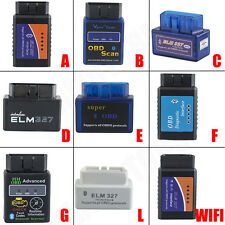 ELM327 V1.5 OBD2 CAN-BUS Bluetooth/WIFI Car Auto Diagnostic Interface Scanner @Q