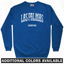 Las Palmas Gran Canaria Sweatshirt Crewneck - Canary Islands Spain ES  Men S-3XL