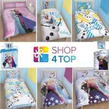 DISNEY FROZEN ELSA ANNA OLAF DUVET SET COVER QUILT BEDDING KIDS CHILDRENS NEW