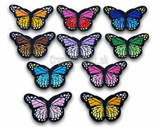 Butterfly Iron / Sew On Embroidered Patch Applique Motif *Buy 2 get 25% off*