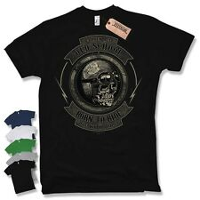 BIKER T-Shirt - Old school born to ride Motorcycle Motorcycle Size S M L XL XXL